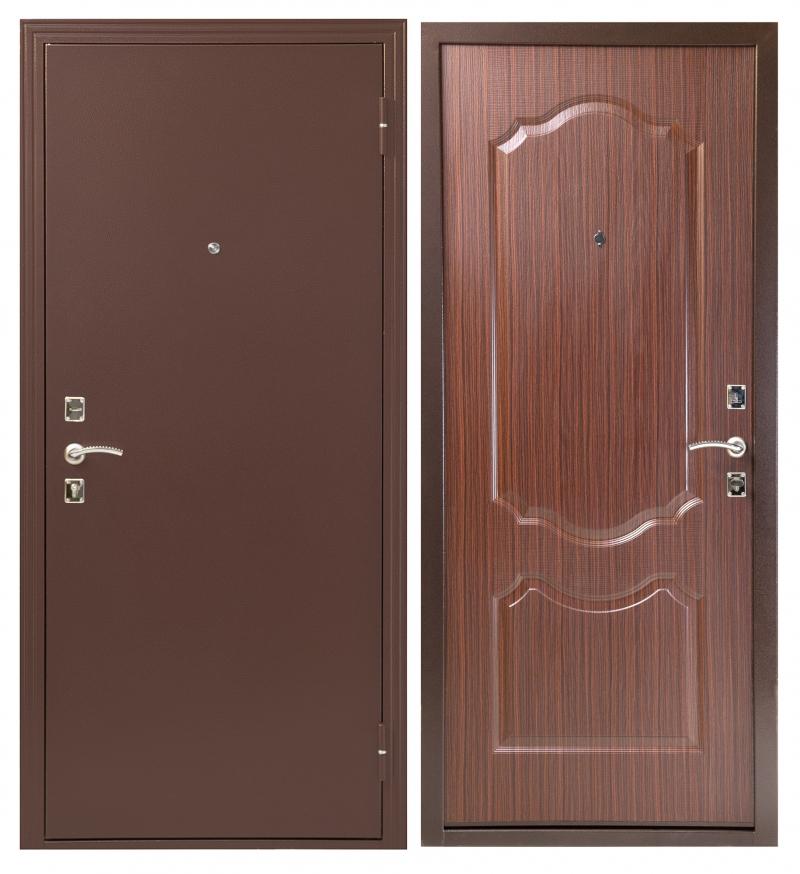 Меги Сейф-дверь Мегадом венге